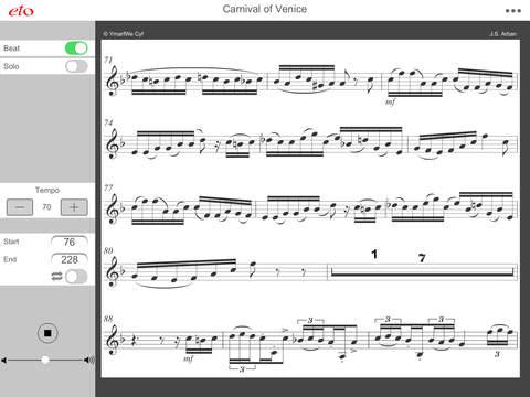 Carnival of Venice - Advanced Trumpet and Cornet Practice