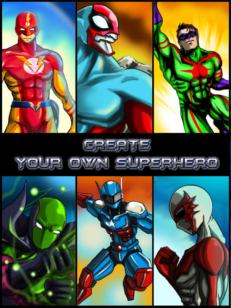 Character Design App Free : App shopper create your own superhero free hero