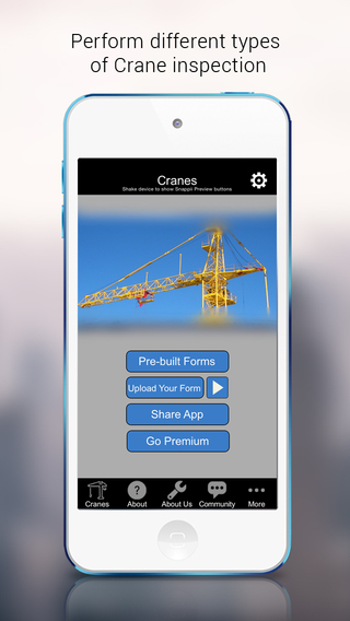 Inspect Visually Check Cranes and Loads