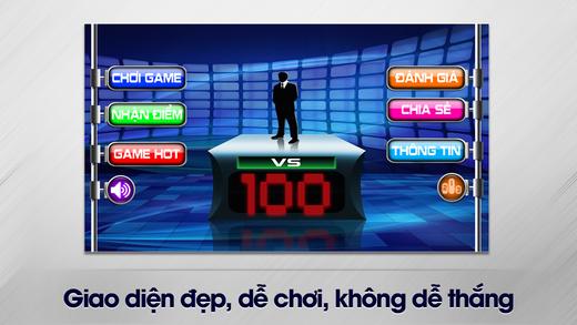 Đấu Trường 100 - chơi game thử thách trí tuệ hay v