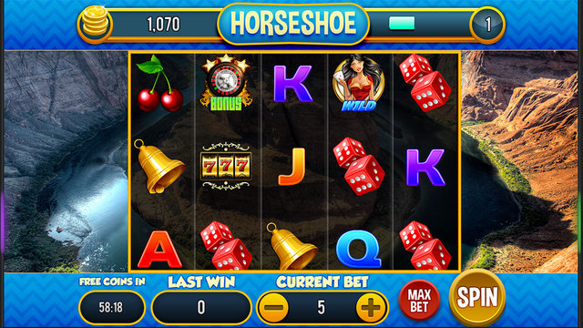 Horseshoe - Free Casino Slots Game