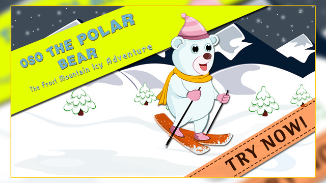 Oso The Polar Bear : The Frost Mountain Icy Adventure