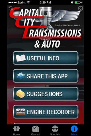 Capital City Transmission screenshot 1