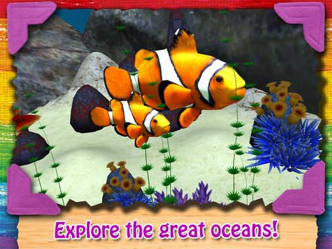 Paint My Zoo - Magic 3D Animal and Dinosaur Coloring iPad Screenshot 4