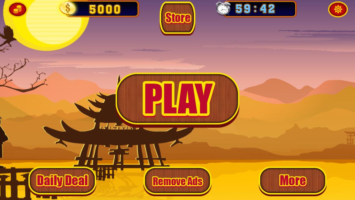 The Ninja Slot Machine - Free to Play Online Casino Game