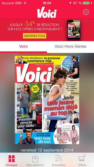 Voici: le magazine féminin people