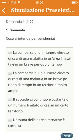 Quiz Infermiere