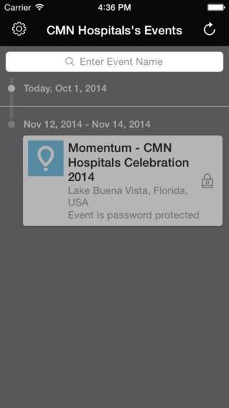 CMN Hospitals Events
