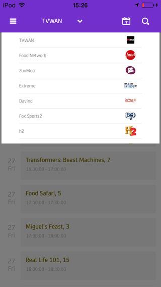 Digicel Play TV Program Guide