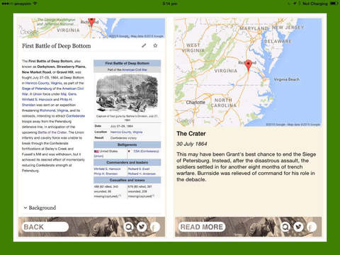American Civil War Daily iPad Screenshot 4