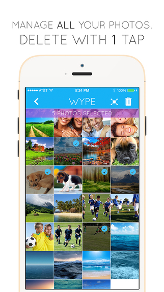 Wype - Screenshot Photo Manager