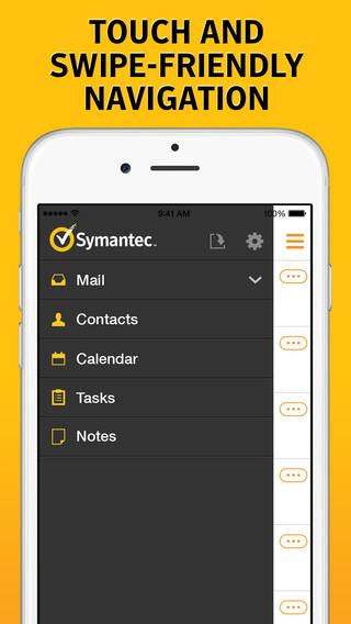 Symantec Work Mail