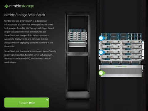 Nimble Storage 3D Demos