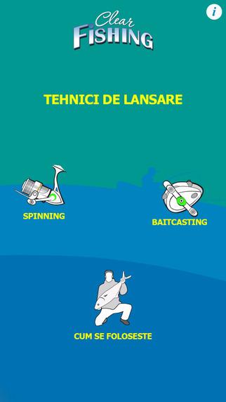 Tehnici de Lansare - Pescuit Rapitori