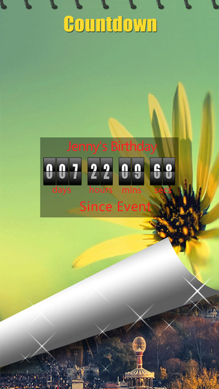 Countdown -Clock Timer Counter Calendar Hotmail Gmail Outlook Reminder
