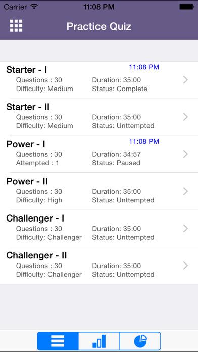 6 ACT Practice Tests (Math) iPhone Screenshot 1