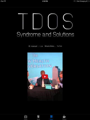 TDOS Syndrome and Solutions Book