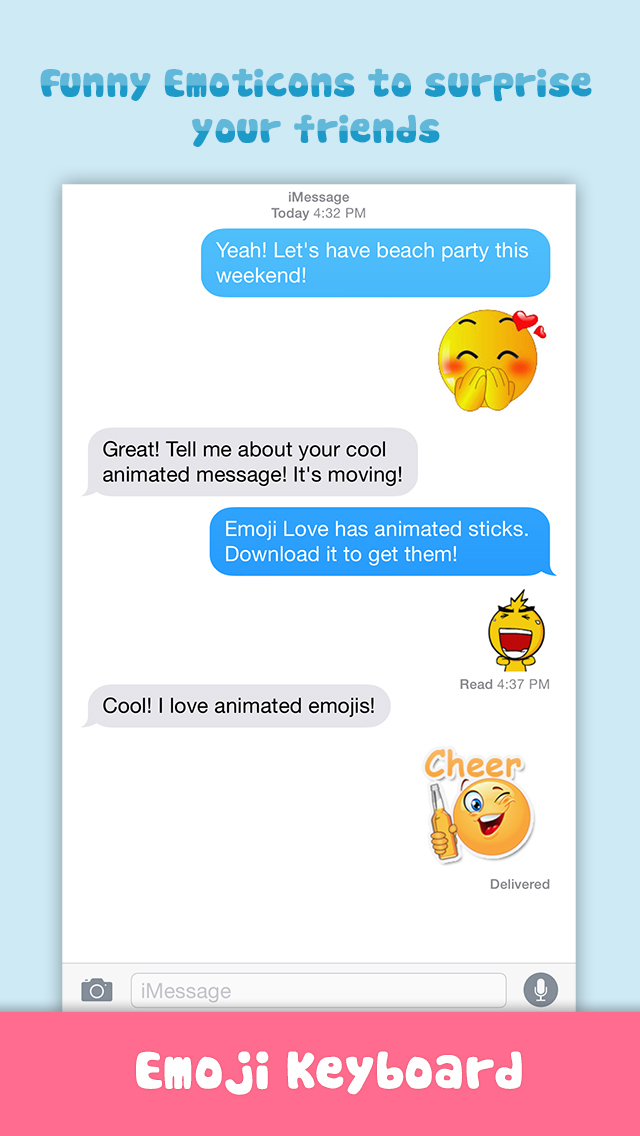 how to send animated emoji on iphone