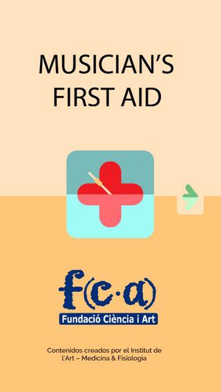 Musician's First Aid - Castellano para iPhone