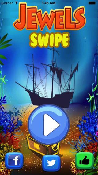 Jewel Swipe Mania - Fun Matching Game for Children Adults