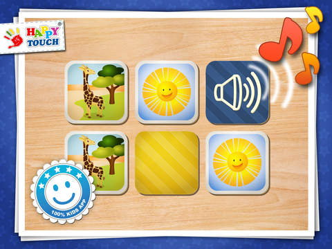 Audio Match it for children by Happy-Touch®