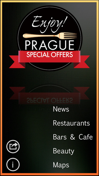 Enjoy Prague-Restaurants-Bars