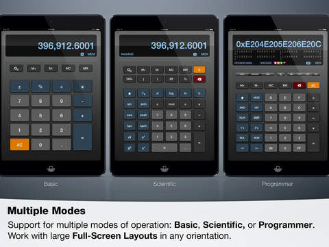 Sci:Pro Calculator screenshot