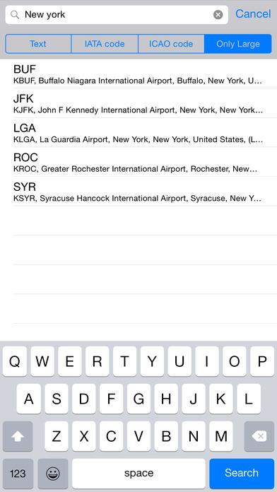 WorldAirport iPhone Screenshot 4