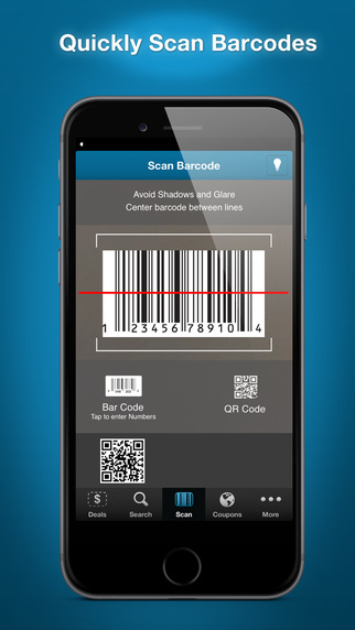 Scan Shop – UPC Code Reader QR Bar Code Reader and Qrcode Scanner