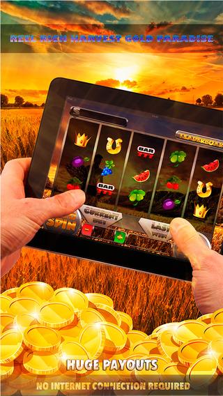 Reel Rich Harvest Gold Paradise Slots - FREE Slot Game Vegas Casino