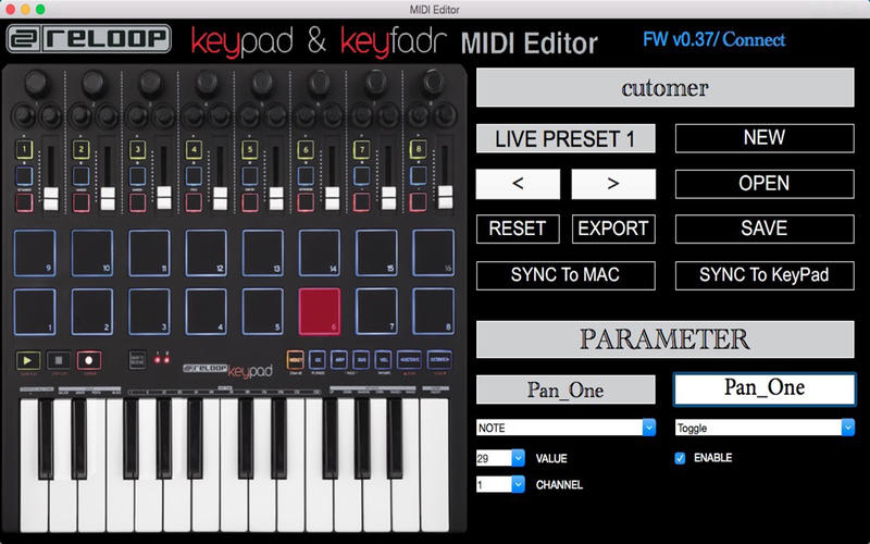 MIDI Editor Screenshot - 4