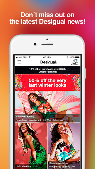 Desigual App - Shop Online