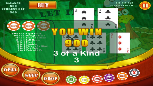 My-Vegas Holiday High Top 5 Casino Cards Game Free