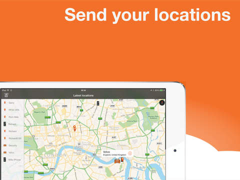 AutoAlert Tracker iPad Screenshot 1