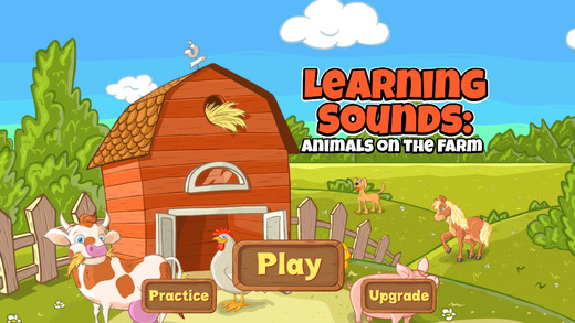 Learning Sounds for Infants: Matching Animals on the Farm