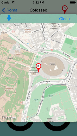 Roma Giracittà - Audioguida iPhone Screenshot 4