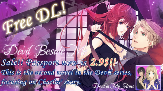 Devil Beside Me -dating sim novel game-