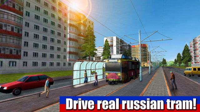 Russian Tram Driver 3D Free