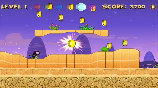 Mini Ninja Heroes Run and Jump : 2d Fun Game