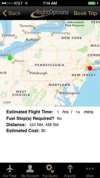FlightOptions iPhone Screenshot 3