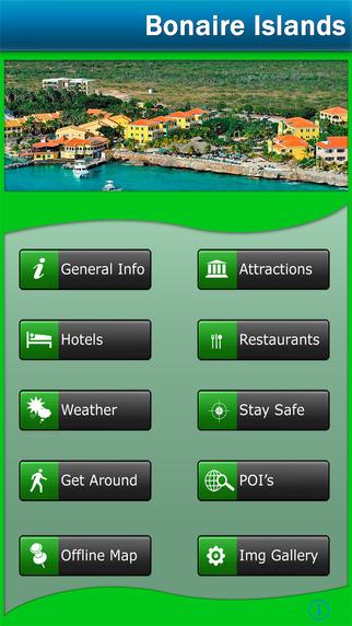 Bonaire Island Offline Map Guide