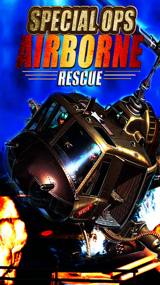 Special Ops Airborne Rescue - Top Down Gunship Style Flying Game