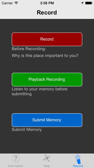 The Matter of Memory iPhone Screenshot 3