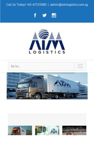 Aim Logistics SG screenshot 1