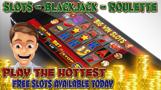 Aace Big Win - Slots Blackjack 21 and Roulette FREE
