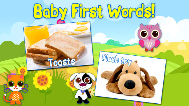 Baby First Words Book 2 House. Free educational games for toddlers.