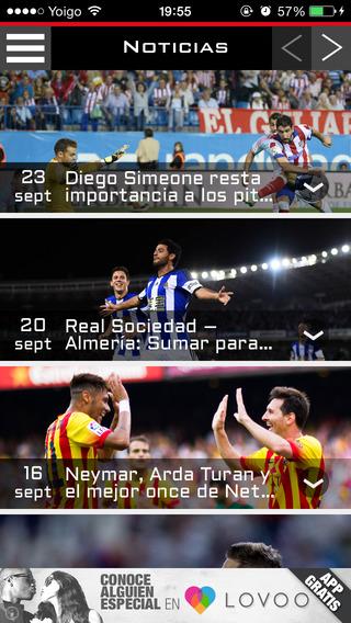 FutbolApp - Almería Edition