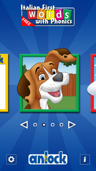 Italian First Words with Phonics Free: Kids Preschool Spelling Learning Game