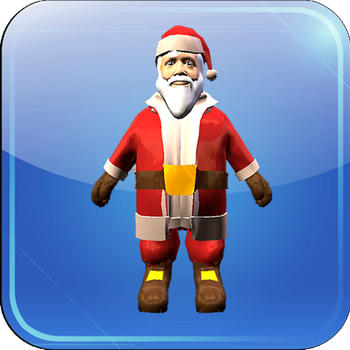 Customise Santa LOGO-APP點子