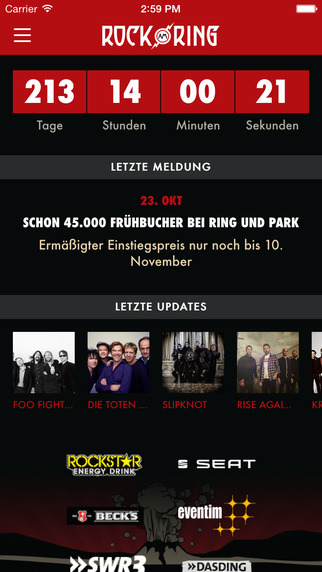 Rock am Ring – The official App